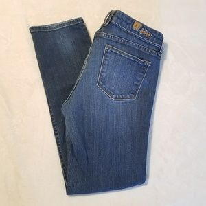 Kut from the Cloth Dark Wash Strait Leg Jeans